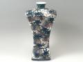 【村上玄輝 作品】松藤図 尺角型花瓶