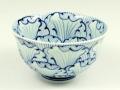 花弁紋 茶碗 大