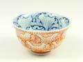 花弁紋 茶碗 小