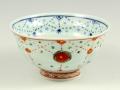 瓔珞紋手作り 茶碗 小