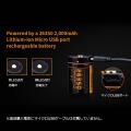 26350マイクロUSBポート付きリチウムイオン電池