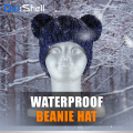 【Dex Shell】子供用(キッズ)ツインポンポン防水通気防寒ニット帽 DH572-PP