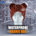 【Dex Shell】子供用(キッズ)ツインポンポン防水通気防寒ニット帽 DH572-TR