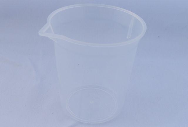 プラスチック製(ポリプロピレン)ビーカー100ml