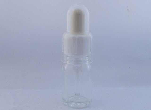 ガラス瓶 スポイト瓶(透明)20ml