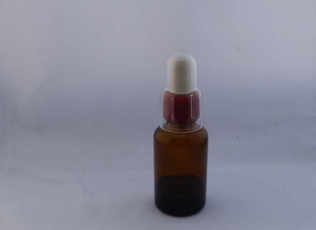 ガラス遮光瓶 スポイト瓶(アンバー)30ml