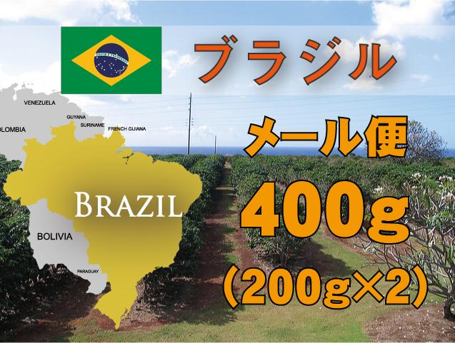ブラジル トミオフクダ農園  400g 中煎り