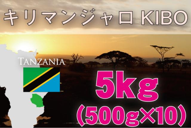 タンザニア  5kg 浅~中煎り