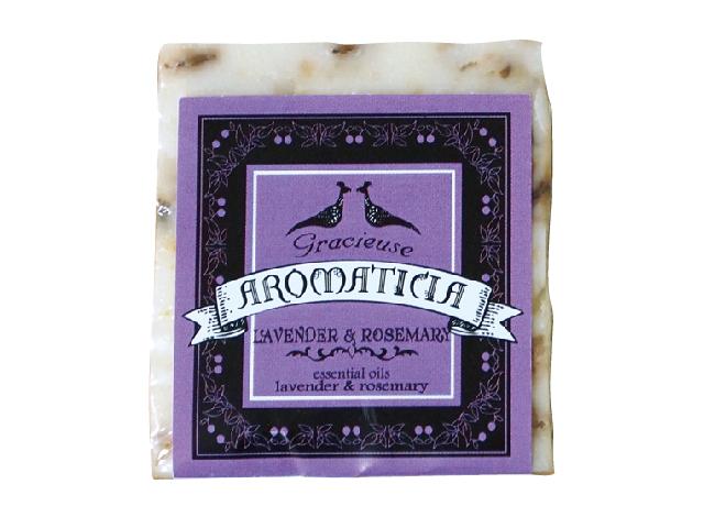 ラベンダー&ローズマリー:乾燥や年齢が気になる肌 | とろける泡のはちみつクリーム石鹸