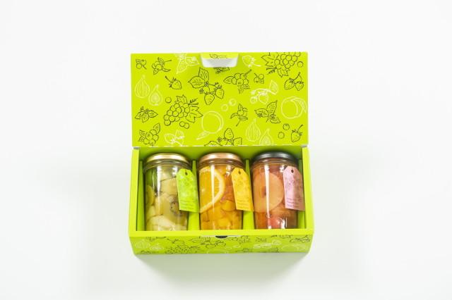 フルーツポンチ3本セット(レッド・グリーン・オレンジ)