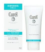 【Curel】キュレル ジェルメイク落とし 130g 【花王】(消炎剤配合・医薬部外品) [クレンジング]