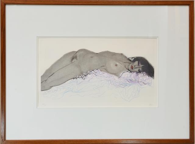 加山又造 裸婦
