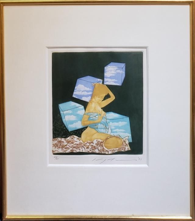 池田満寿夫 『トラグラーナ』 銅版画