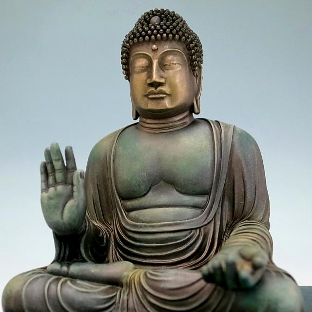 BuddhismArt 盧舎那仏 青銅彩色版 【※完売】