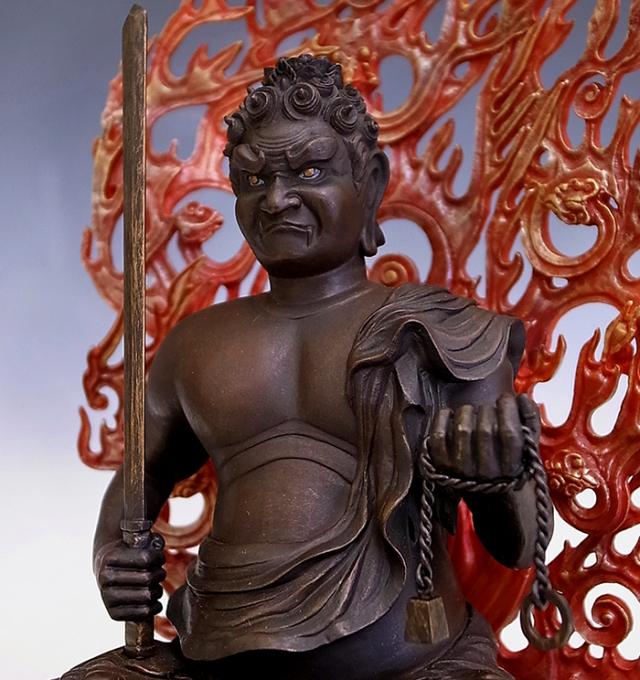 BuddhismArt 不動明王像