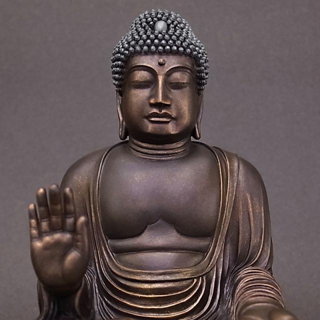 BuddhismArt 盧舎那仏 銅造彩色版 ※完売