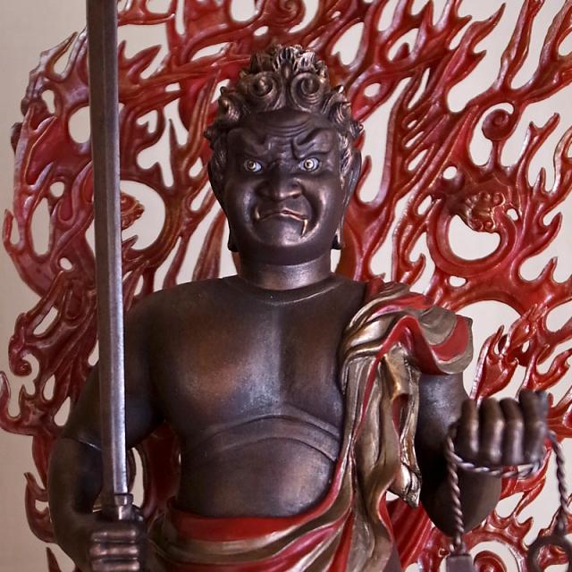 BuddhismArt 不動明王像 極彩色版 ※完売