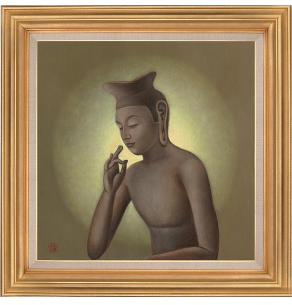 仏画|ジークレー版画|弥勒菩薩像 川原美奈 【S10号】