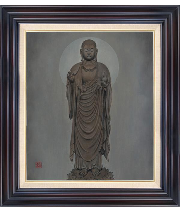 仏画|ジークレー版画|地蔵菩薩像 川原美奈 【F10号】