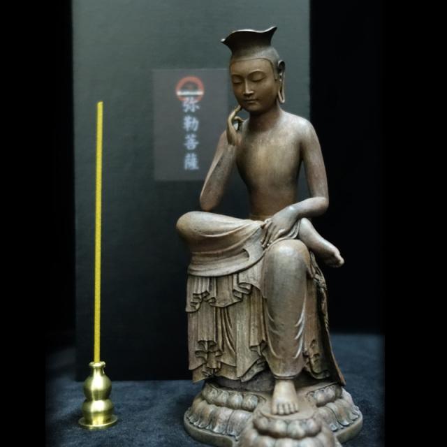 【仏像キャンペーン】BuddhismArt 弥勒菩薩【癒しの香セット】