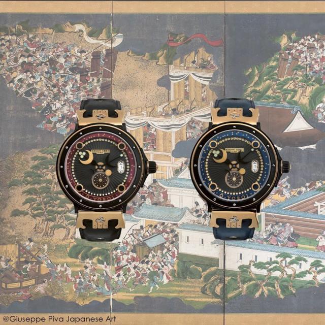 イタリア高級時計ブランドRomano Alberti O-YOROIサムライ大鎧シリーズ男女兼用腕時計