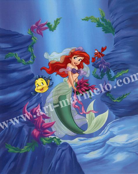 「Ariel-Dreams Under the Sea」