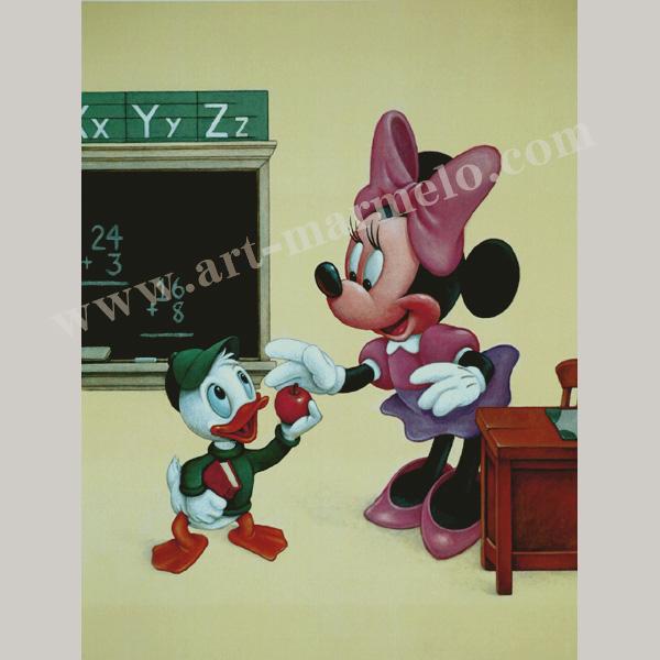 ディズニー「An Apple for Minnie」
