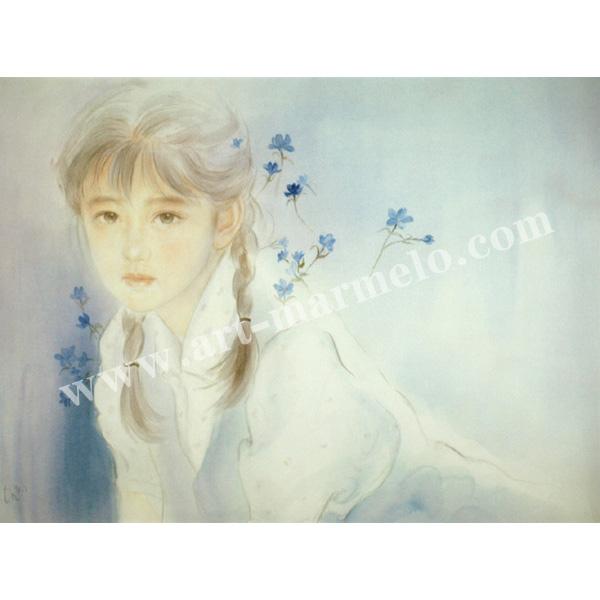おおた慶文のアートプリント「夢の奥へ」