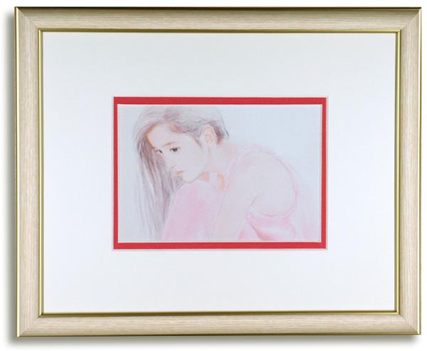 おおた慶文のポストカード額装「悲しみのシカケ」額装
