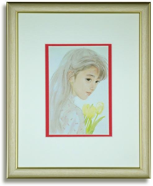 おおた慶文のポストカード額装「その後の愛」額装