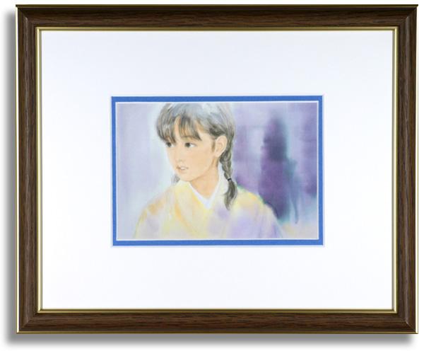 おおた慶文のポストカード額装「千草の秘話」額装