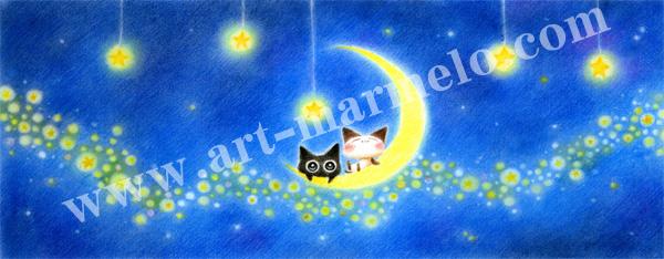 Sakuraの版画「Star Cruise」、版画の通販専門店アート・マルメロ