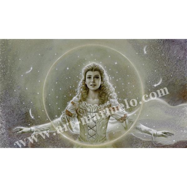 玉神輝美の版画「Buddhata 2」