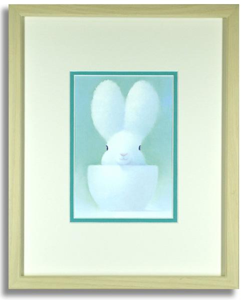 渡辺宏「ペパーミントの想い」額装