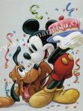 「Mickey and Pluto-A Celebration with Friends」