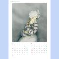 2021年畑典子アートカレンダー