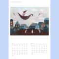 2021年タニガワマリコアートカレンダー