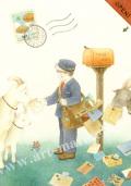 蓮田千尋の原画「little postman」