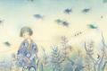 蓮田千尋の原画「ゆびきり」
