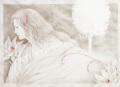 目黒直子の原画「Paranoia」、版画の通販専門店アートロマルメロ