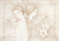 目黒直子の原画「Sincerely」、版画の通販専門店アートロマルメロ