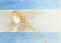 目黒直子の原画「TRANSIT」、版画の通販専門店アートロマルメロ