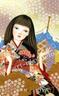 HIGU003b桜と幕