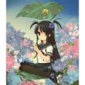 いとうのいぢの版画「紫陽花の日」