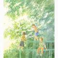 北沢優子の版画「風の向こうに」