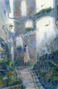 待井健一の版画「やわらかな朝」、版画の通販専門店アート・マルメロ