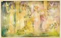 「清き園」牧野鈴子の版画