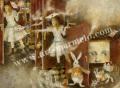 「アリス」牧野鈴子の版画