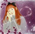 目黒直子の版画「Link」L