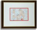 おおた慶文のポストカード額装「天使のソネット」額装
